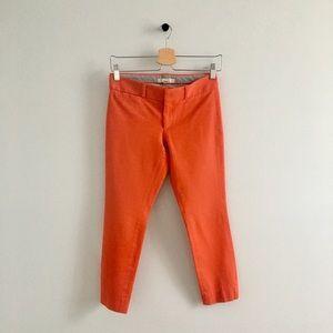Banana Republic orange/red ankle bottoms